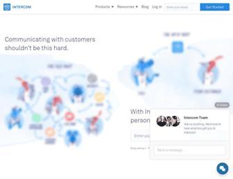 Thumbshot of Intercom.io