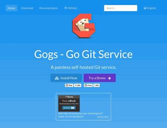 gogs.io screenshot