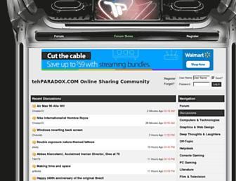 Thumbshot of Tehparadox.com