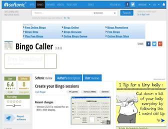bingo-caller.en.softonic.com screenshot