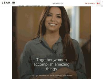 leanin.org screenshot