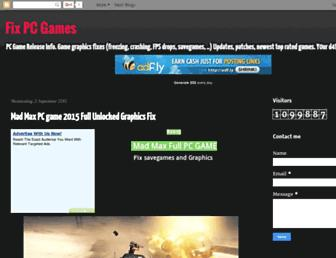 fixpcgames.blogspot.com screenshot
