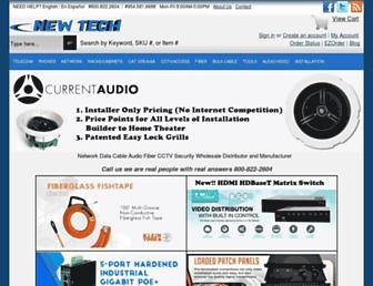 newtechindustries.com screenshot