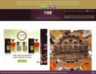 Thumbshot of Thewhiskyexchange.com