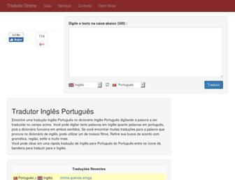 inglestradutor.com screenshot