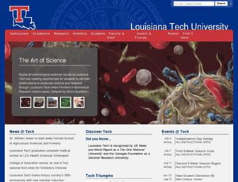Thumbshot of Latech.edu