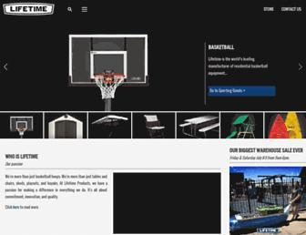 lifetime.com screenshot