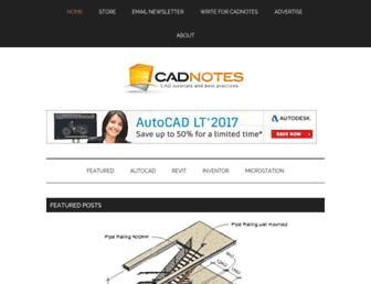 cad-notes.com screenshot