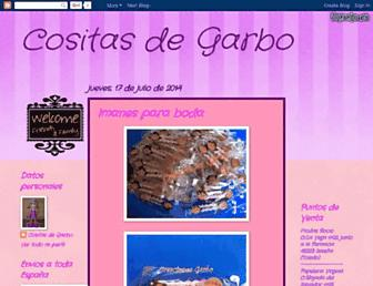 cositasdegarbo.blogspot.com screenshot