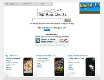 Thumbshot of Topappcharts.com
