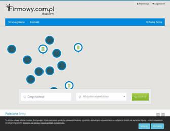 Main page screenshot of firmowy.com.pl