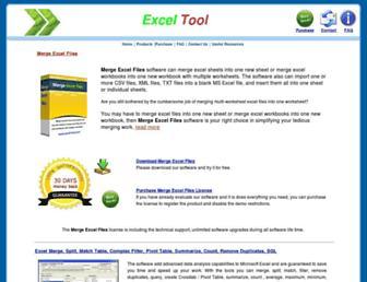 excel-tool.com screenshot