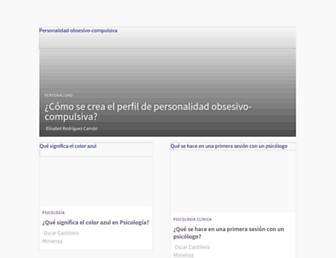 psicologiaymente.com screenshot
