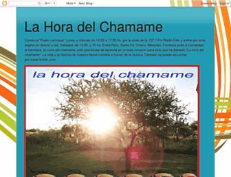 lahoradelchamame.blogspot.com screenshot