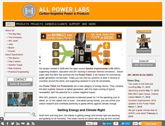 allpowerlabs.com screenshot