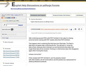 pdfforge5.rssing.com screenshot