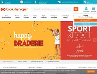 boulanger.com screenshot
