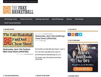 Thumbshot of Thefakebasketball.com