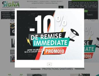 signa-print.com screenshot