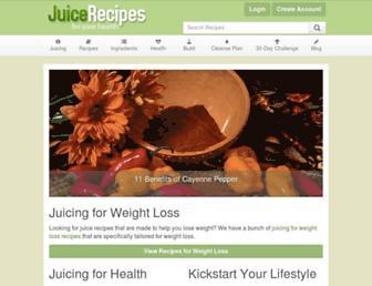 Thumbshot of Juicerecipes.com