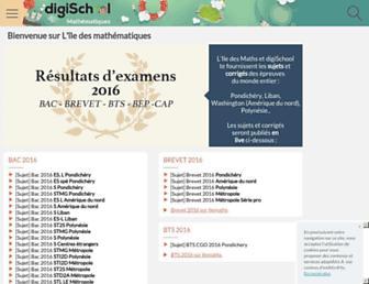 ilemaths.net screenshot