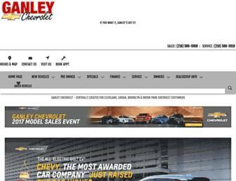 ganleychevywest.com screenshot