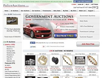 Thumbshot of Policeauctions.com