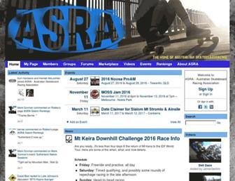 skateboardracing.org.au screenshot