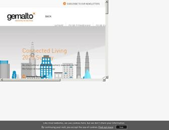 gemalto.com screenshot