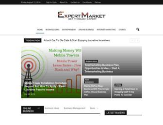 expert-market.com screenshot