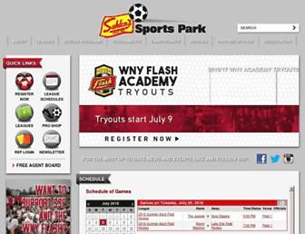 sahlensportspark.com screenshot