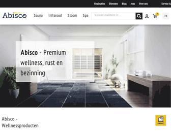 abisco.be screenshot