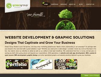 greengroupstudio.com screenshot