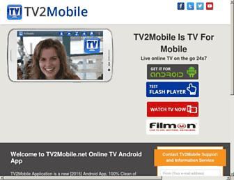 tv2mobile.net screenshot