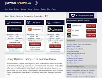 Thumbshot of Binaryoptions.net