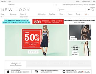 Thumbshot of Newlook.com