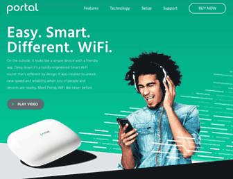 portalwifi.com screenshot