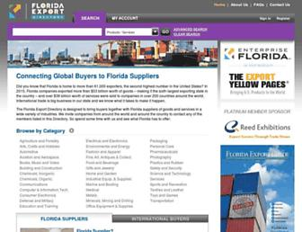 floridaexportdirectory.com screenshot