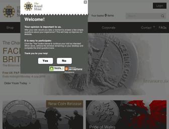 Thumbshot of Royalmint.com