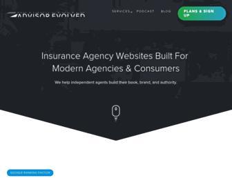 advisorevolved.com screenshot