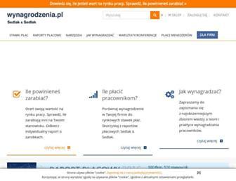 Thumbshot of Wynagrodzenia.pl