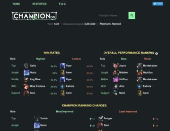 champion.gg screenshot