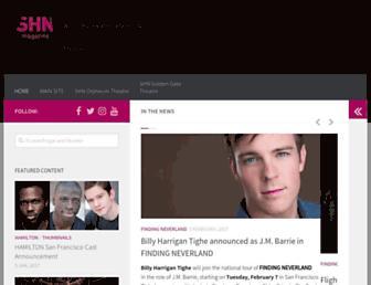 magazine.shnsf.com screenshot