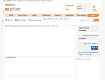 photo.walgreens.com screenshot