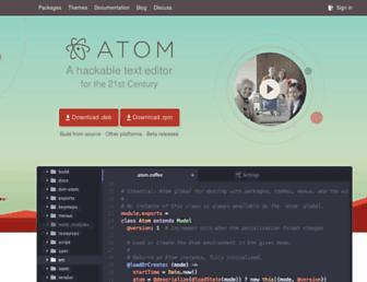 Thumbshot of Atom.io