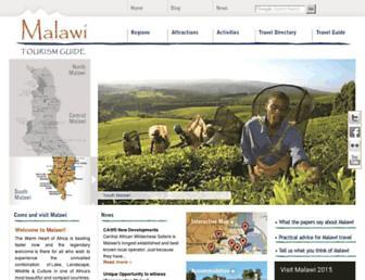 malawitourism.com screenshot