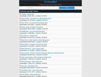 tembangmp3.com screenshot