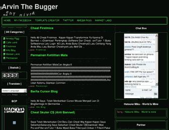 arvinthebugger.blogspot.com screenshot