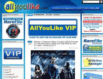 Thumbshot of Allyoulike.com