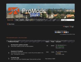 promods.net screenshot